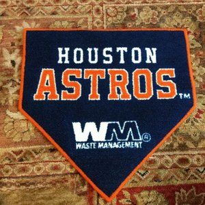 Houston Astros Homeplate /Welcome Mat/Cave Carpet…